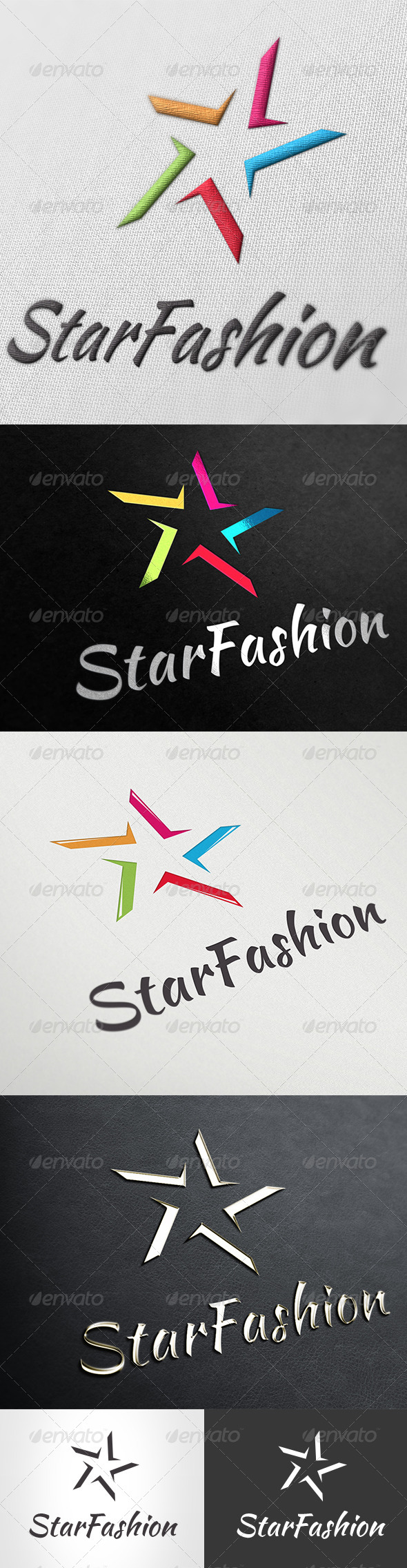Logo Star Fashion