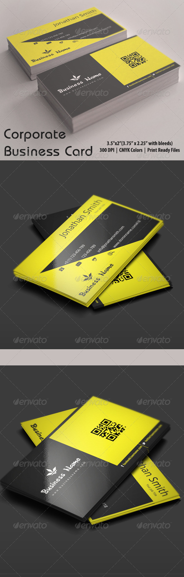 GraphicRiver Corporate Business Card 5428388