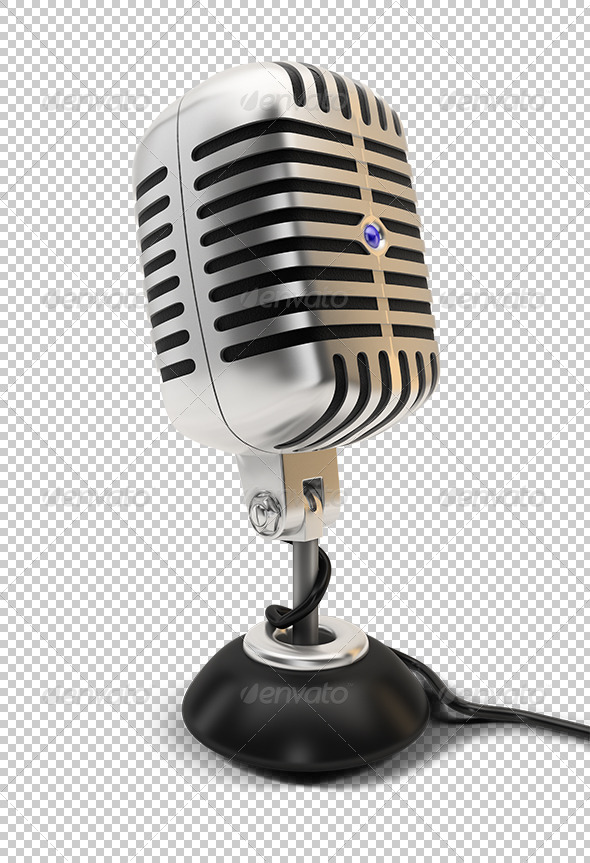 GraphicRiver microphone 5447436