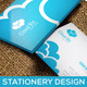 Cloud Stationery - GraphicRiver Item for Sale