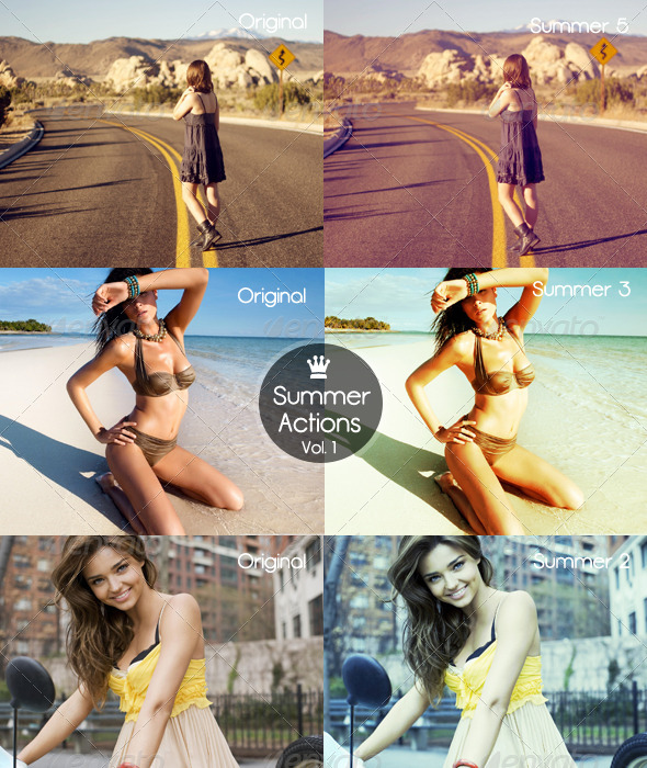 GraphicRiver Summer Actions Vol 1 5447712