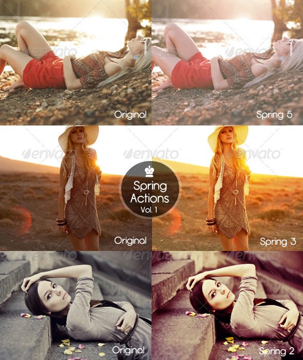 GraphicRiver Spring Actions Vol 1 5447719