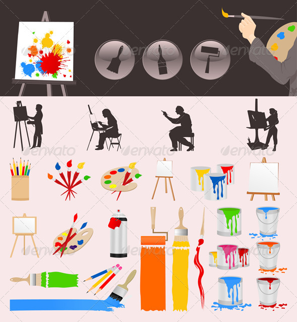 GraphicRiver Collection of the artist 559833