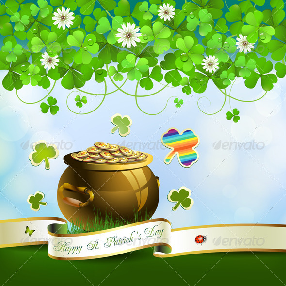 GraphicRiver Saint Patrick s Day card 5446699