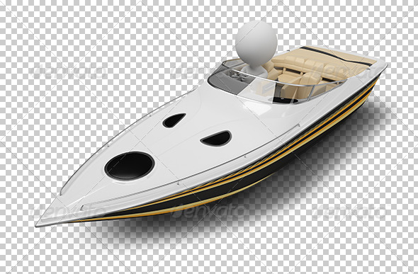 GraphicRiver 3D small people boat 5447998