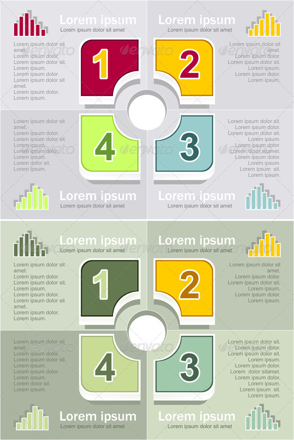 GraphicRiver Infographics Elements 5448293