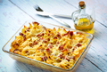 Baked pasta with smoked meat - PhotoDune Item for Sale