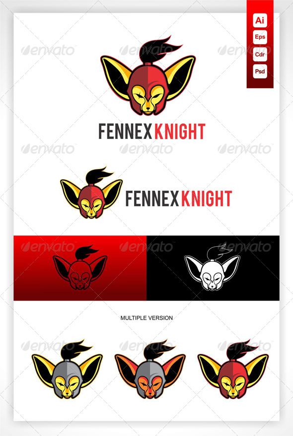 GraphicRiver Fennex Knight Logo 5281442