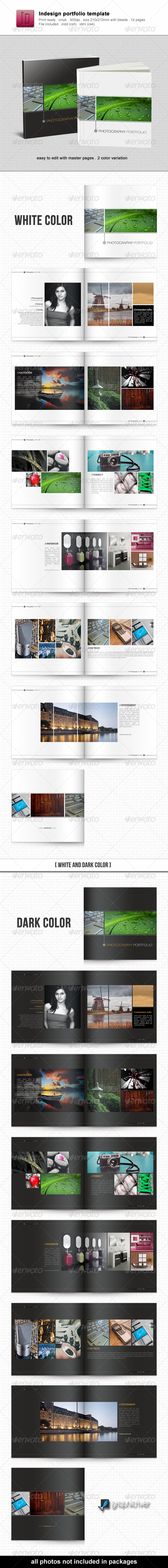 Indesign Portfolio Template - Portfolio Brochures