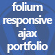 Folium - Responsive Ajax Portfolio - CodeCanyon Item for Sale