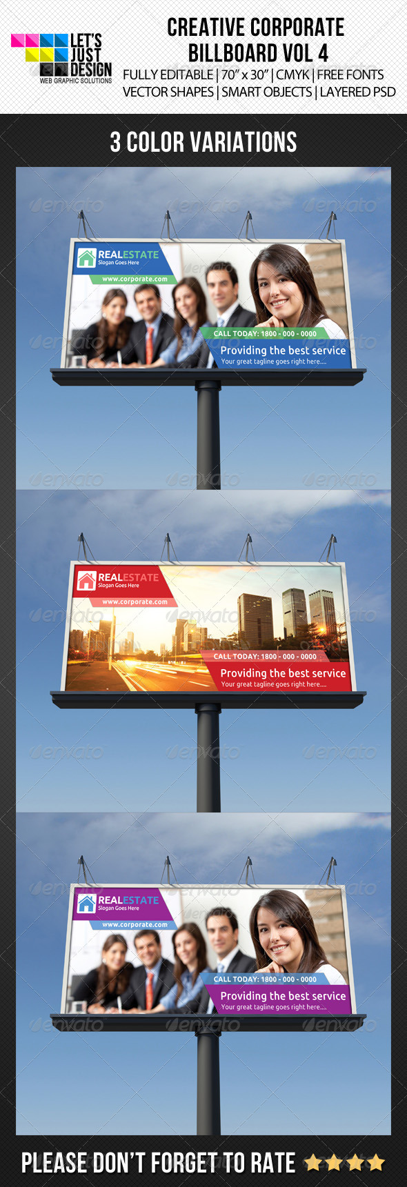 GraphicRiver Creative Corporate Billboard Vol 4 5449919