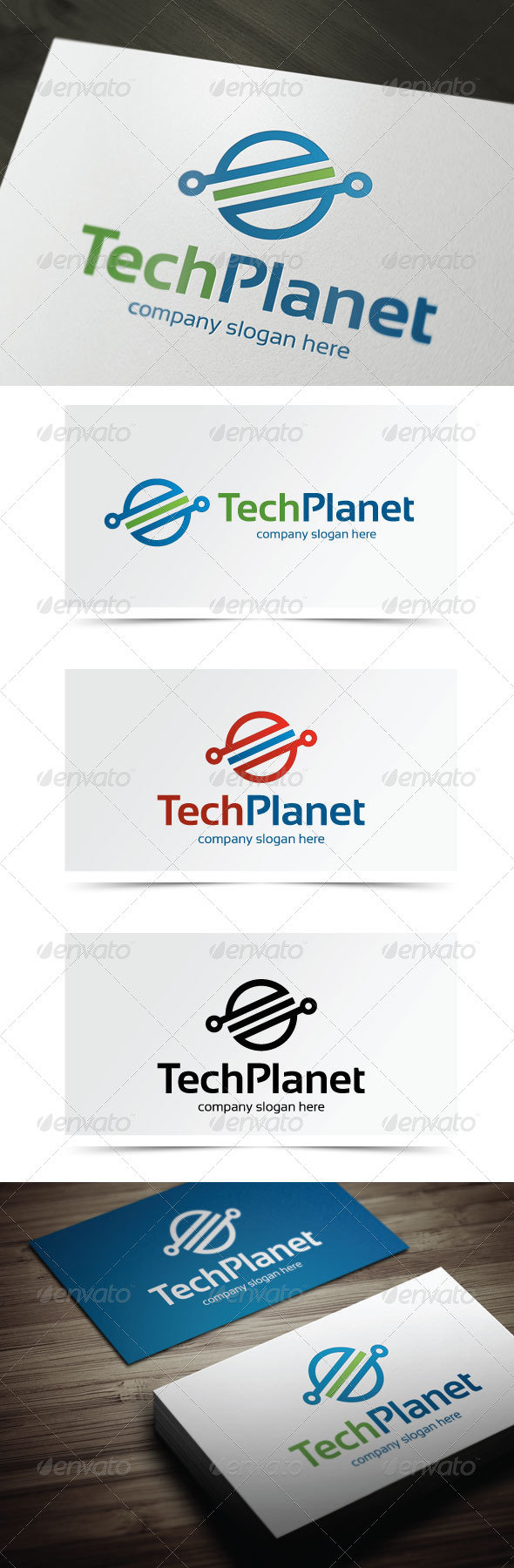 GraphicRiver Tech Planet 5449962
