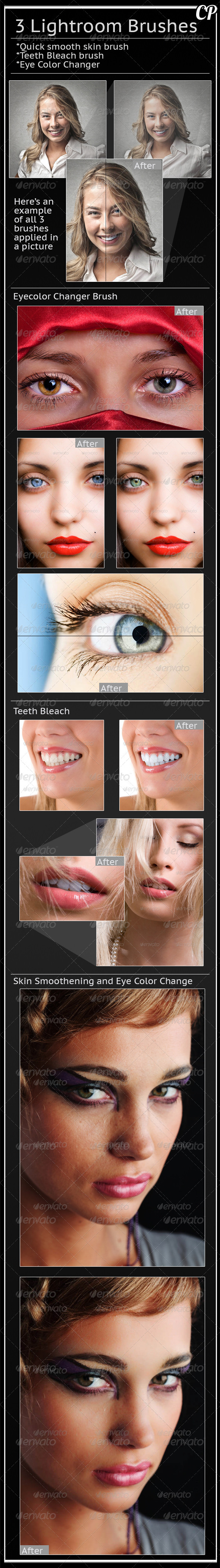 GraphicRiver Face Enhancement Brushes for Lightroom 5450397