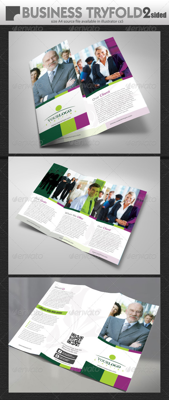 GraphicRiver Brochure Design 5450437