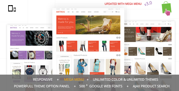 Hello, Thank you for buying our theme. If you have any question please contact via themeforest profile. METROS – Minimalist Responsive Metro Style PrestaS
