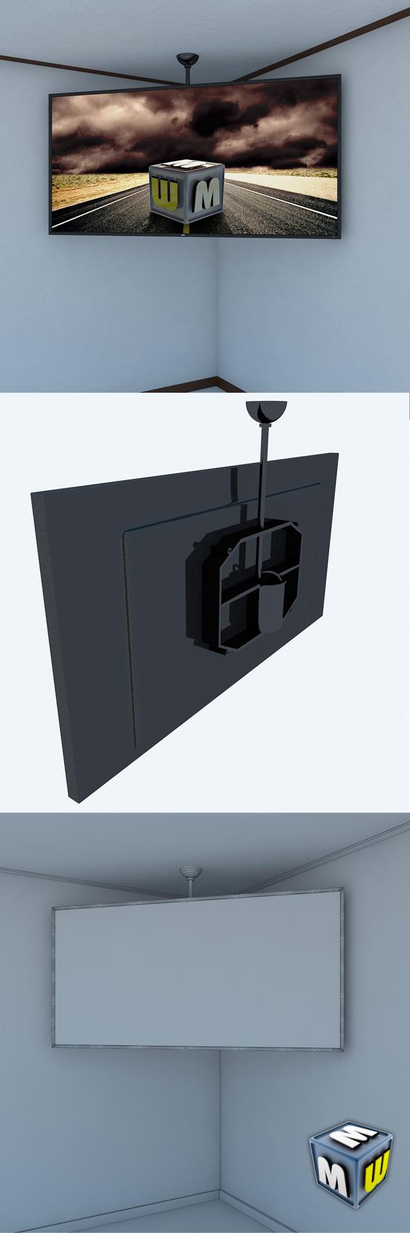 3DOcean LCD Big Screen MAX 2011 5450502