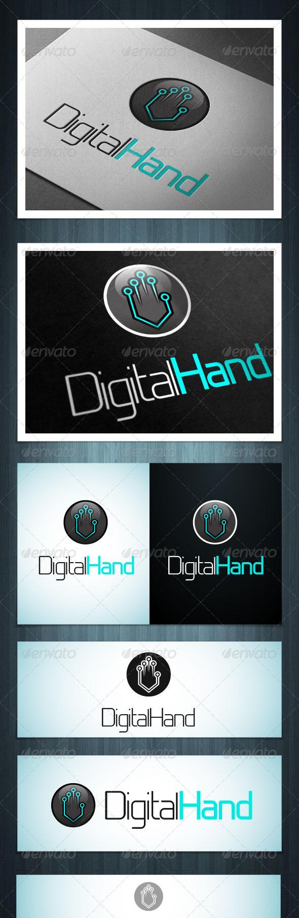 GraphicRiver DigitalHand 5450505