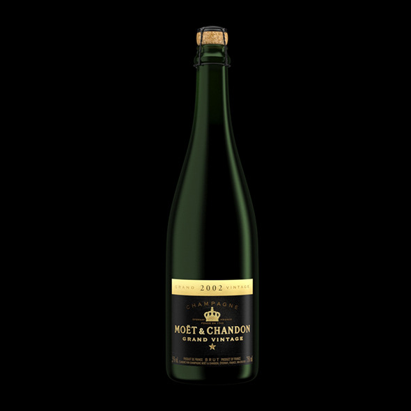 3DOcean Bottle of Champagne Grand Vintage 5450836
