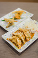 Deep fried fish and gyoza dumpling set - PhotoDune Item for Sale