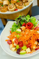 Thai style food spicy vegetables and fruits salad - PhotoDune Item for Sale