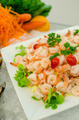 Prawn salad. Mixed healthy salad of shrimp - PhotoDune Item for Sale