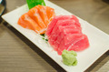 Sashimi set of fresh salmon and tuna raw fish - PhotoDune Item for Sale