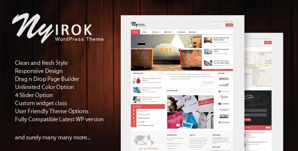 Nyirok - Portfolio & Business WordPress Themes
