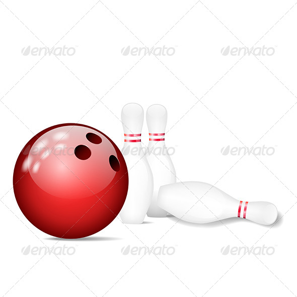GraphicRiver Skittles with Bowling Ball 5451414