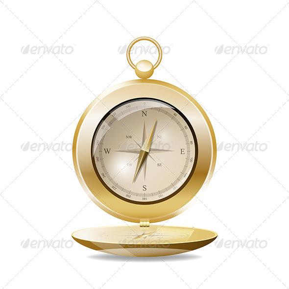 GraphicRiver Vintage Compass 5451429