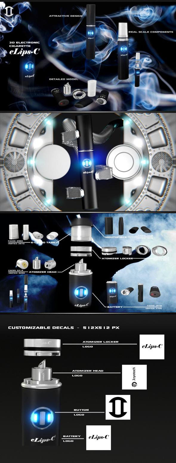 3DOcean Elips-C Cigarette 5451578