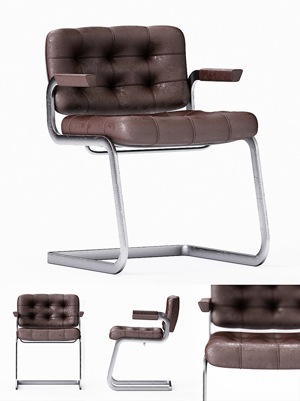 3DOcean Chair of Desede RH305 3D model 5452209