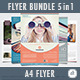 Multipurpose Flyer Bundle 5-in-1 - GraphicRiver Item for Sale