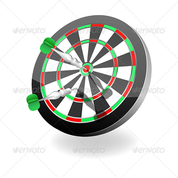GraphicRiver Darts Icon 5452742