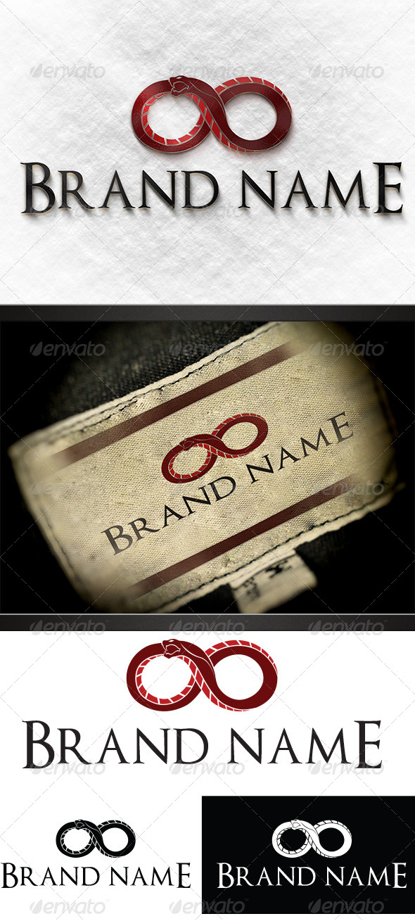 GraphicRiver Infinite Snake Logo 5453438