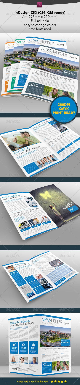 Newsletter Starter - Newsletters Print Templates