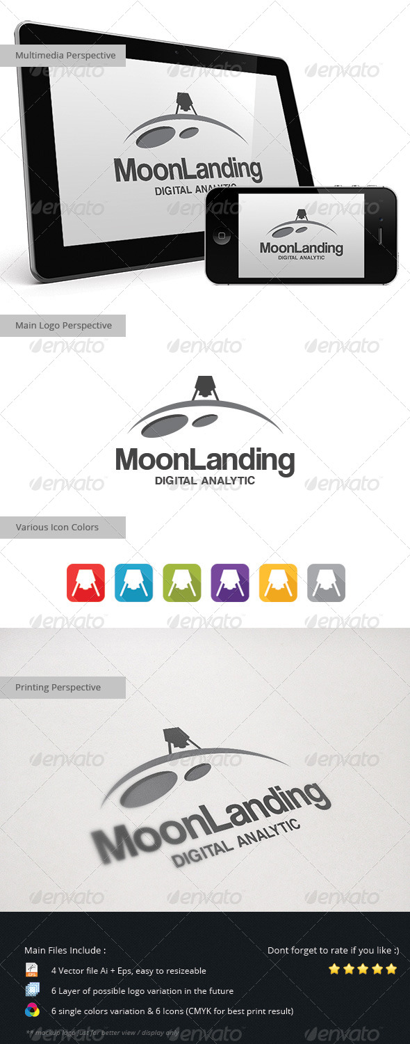 GraphicRiver Moon Landing 5453784