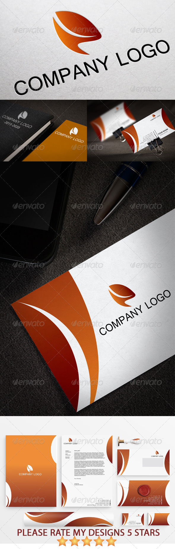 GraphicRiver Modern Stationary & Identity Pack Design 5454267
