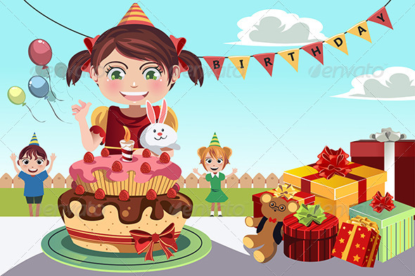 GraphicRiver Birthday Party 5455105