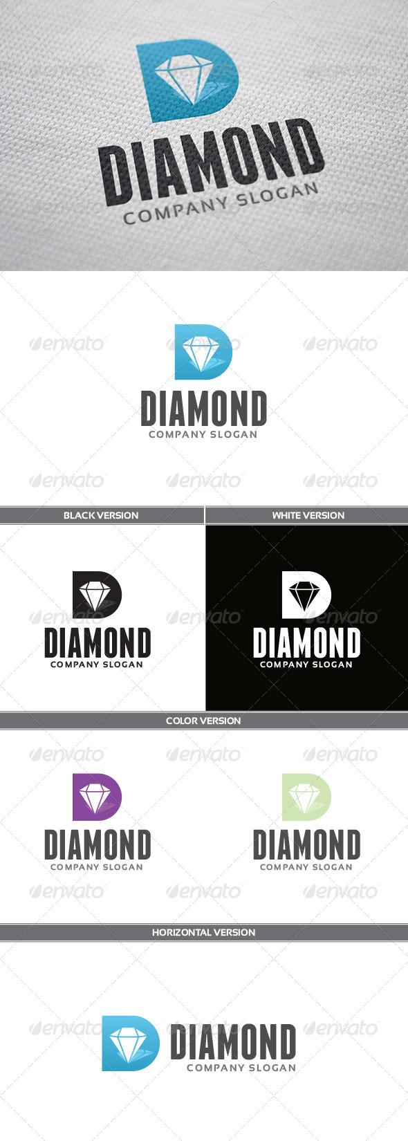 GraphicRiver Diamond Logo 5455115