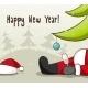 Drunk Santa Claus - GraphicRiver Item for Sale