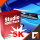 HDRI Studio Bundle Pack 5K