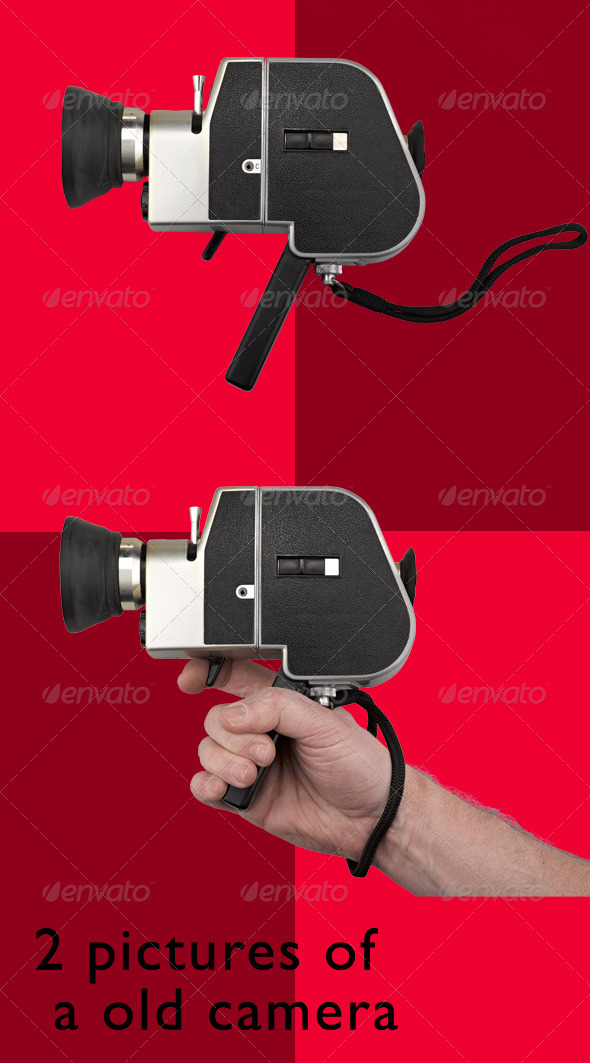 GraphicRiver Old Film Camera Super 8 5455208