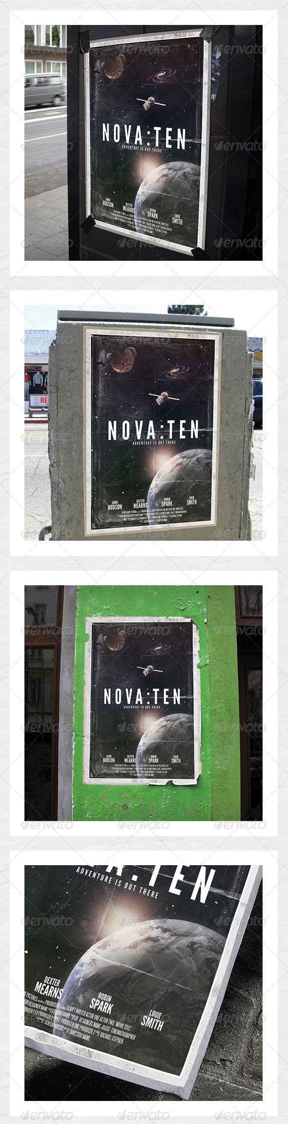 GraphicRiver Sci Fi Film Poster 5455391