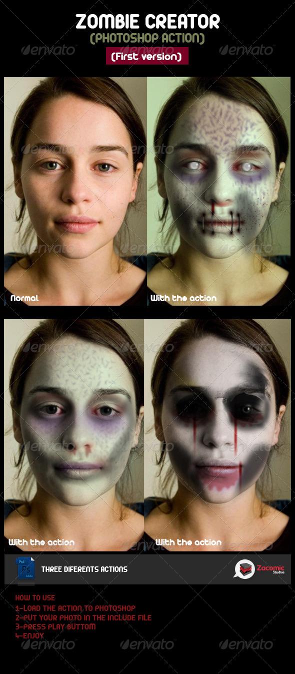 GraphicRiver Zombie Creator 5455963