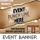Event Web Marketing Set - GraphicRiver Item for Sale