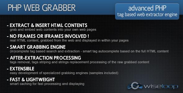 CodeCanyon PHP Web Grabber 236546
