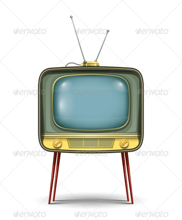 GraphicRiver Retro TV Set 5456879