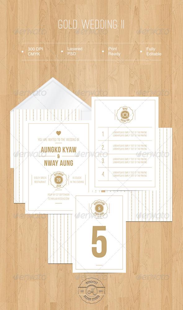 Gold Wedding II