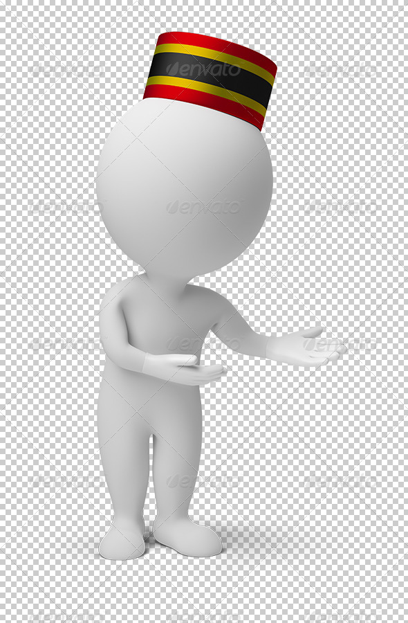 GraphicRiver 3D small people bellboy 5457633