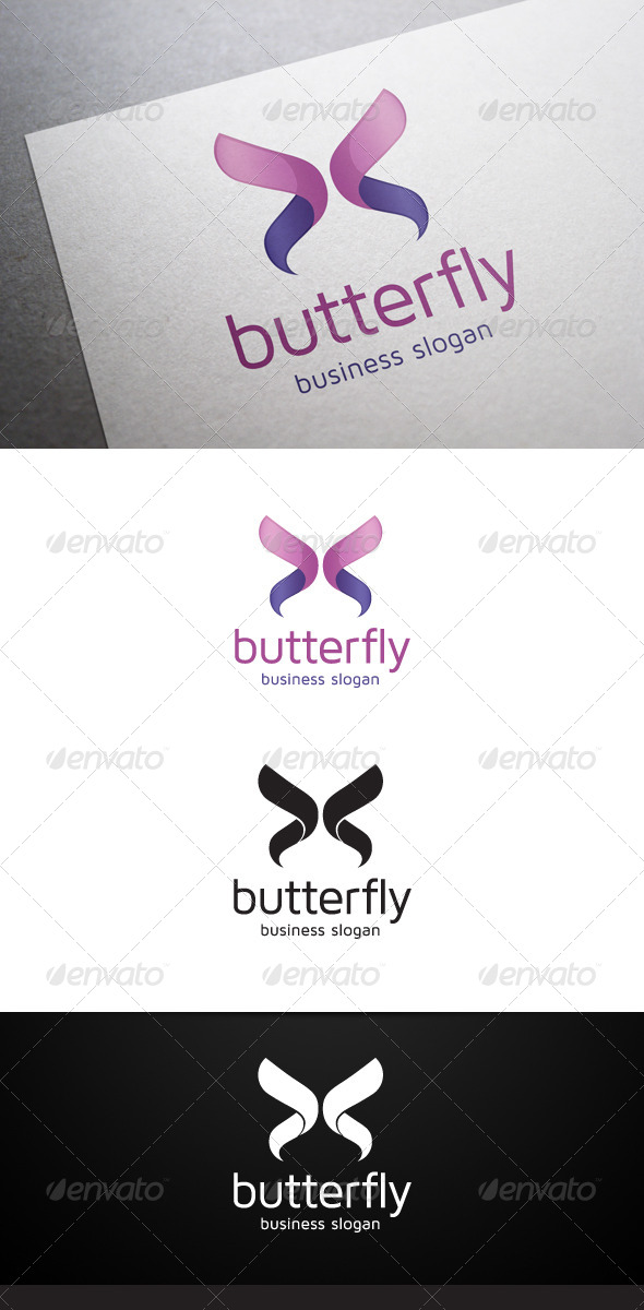GraphicRiver Butterfly Logo 5457984